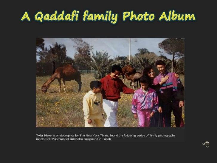 A Qaddafi family Photo Album<br />