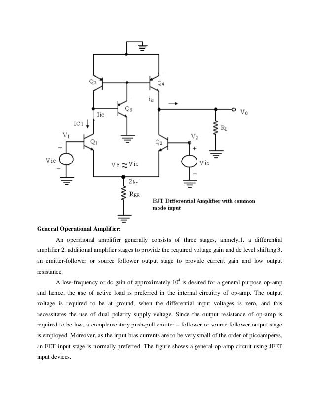 Basic Operational Amplifiers and Linear Integrated Circuits