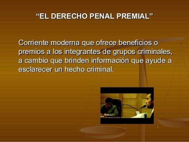 DERECHO PENAL PREMIAL PDF DOWNLOAD