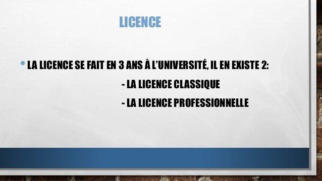 Licences Slide 2
