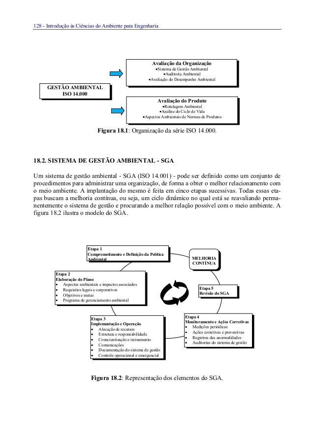 128 - Introdução às Ciências do Ambiente para EngenhariaFigura 18.1: Organização da série ISO 14.000.18.2. SISTEMA DE GEST...