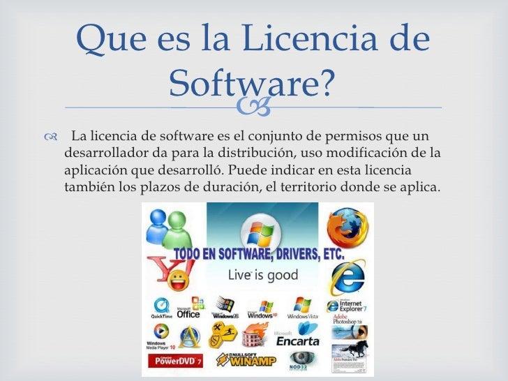Licenciamiento de software-Valenzuela9c| Slide 2