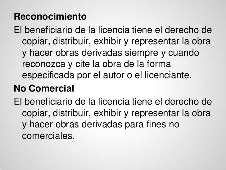 Licenciascreativecommons Slide 2