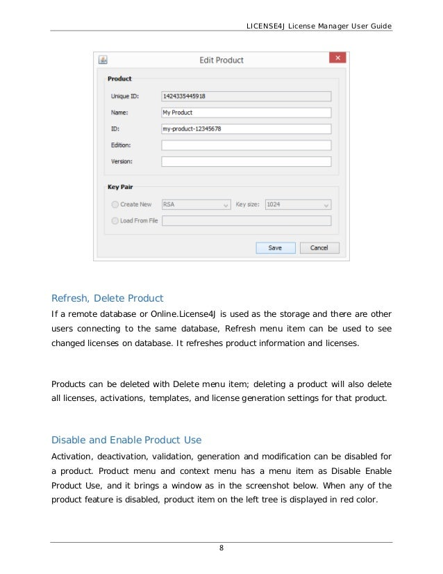 License4J License Manager User Guide