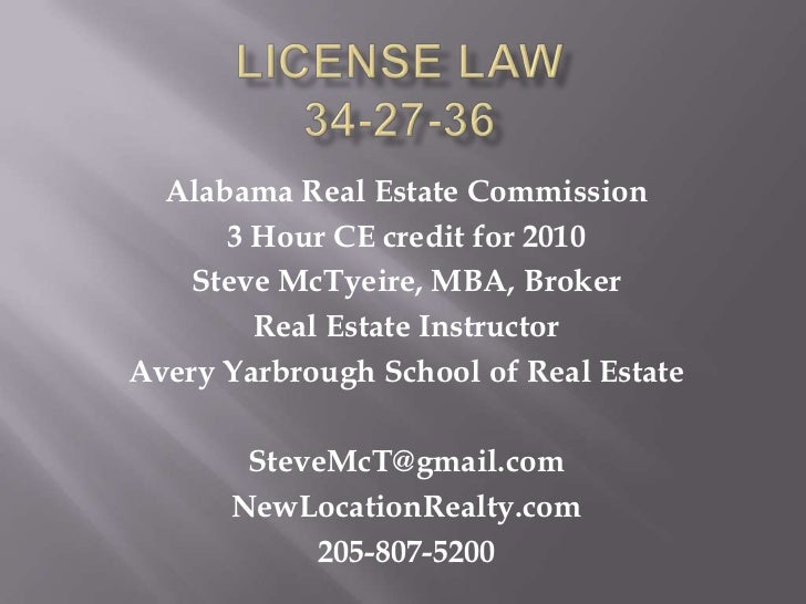 License law