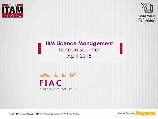 IBM License management