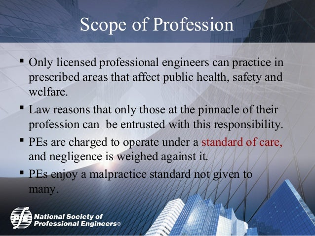 Licensure as a Professional Engineer - It's Value and the ...