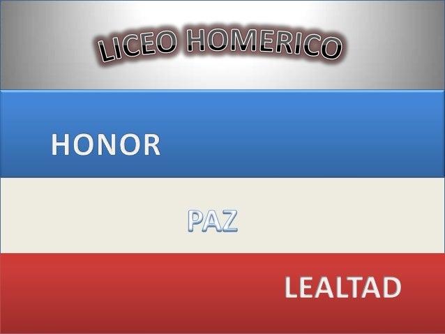 Liceo homerico