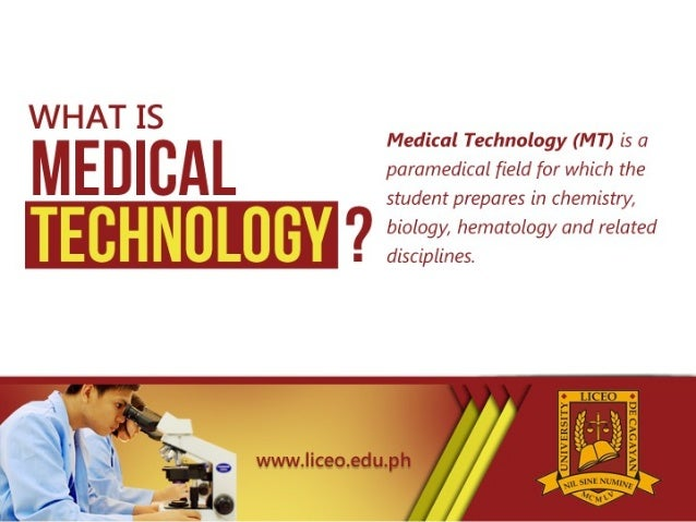 Defining Medical Technology And The Responsibilities Of A Medical Tec…
