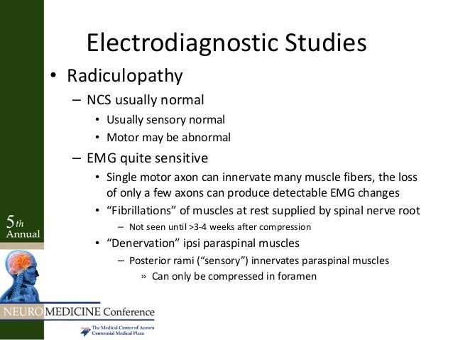 The importance of paraspinal muscle EMG in cervical and ...