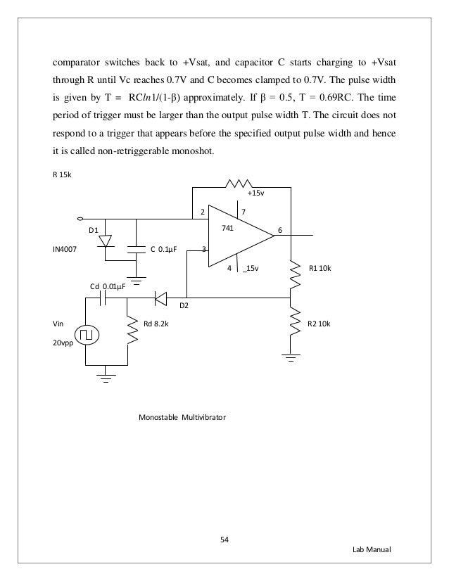 Lic lab manual