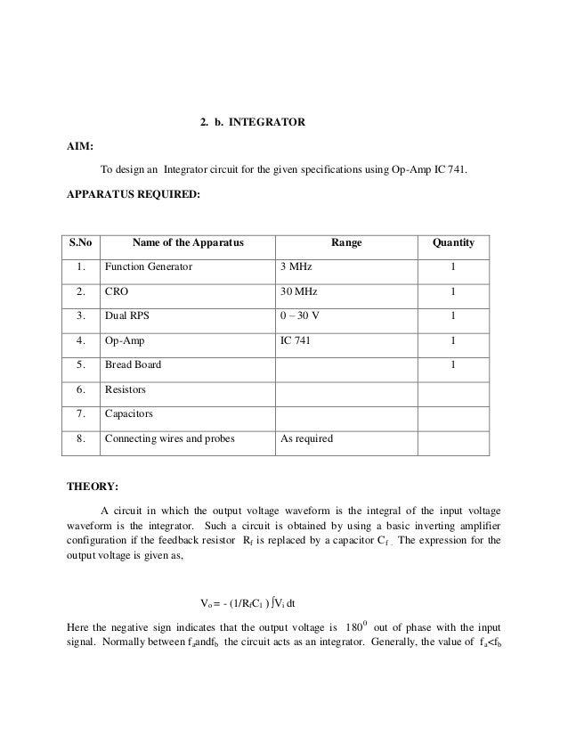 Lic lab manual 1