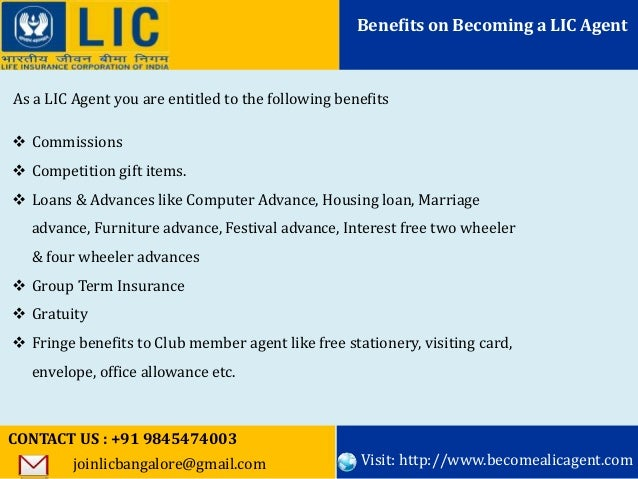 Want to become a lic agent bangalore call91 9845474003 6 colourmoves