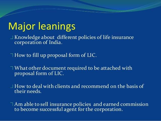 Life insurance project(LIC)