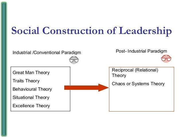 social construction of leadership