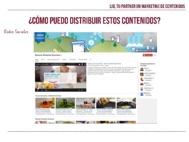 LID se encargará del diseño, desarrollo, actualización, generación de contenidos and actividades de marketing de la comuni...