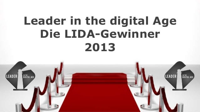 Leader in the digital AgeDie LIDA-Gewinner2013