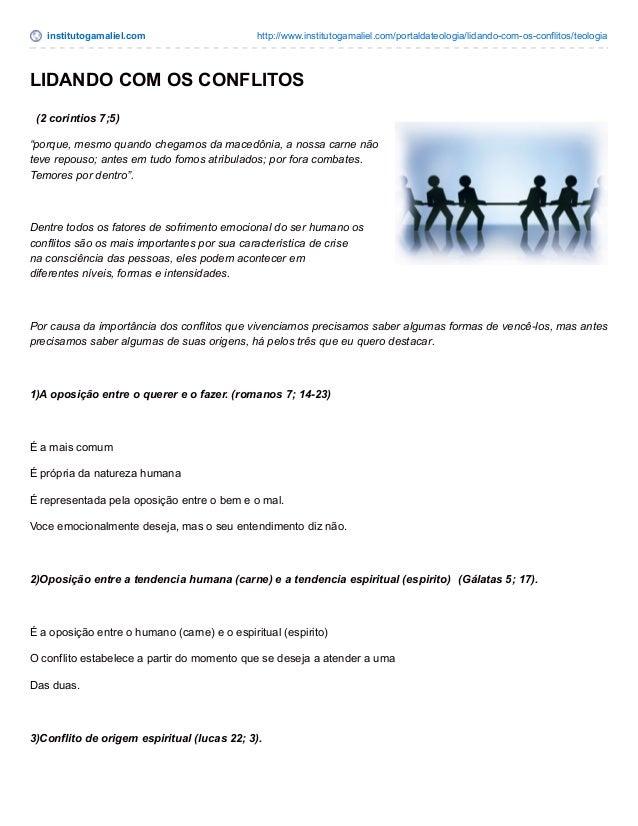 institutogamaliel.com http://www.institutogamaliel.com/portaldateologia/lidando-com-os-conflitos/teologia LIDANDO COM OS C...