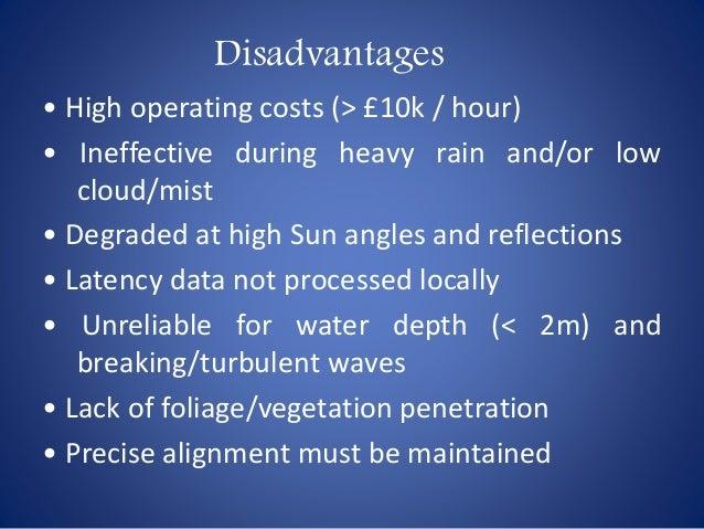 lidar advantages and disadvantages pdf