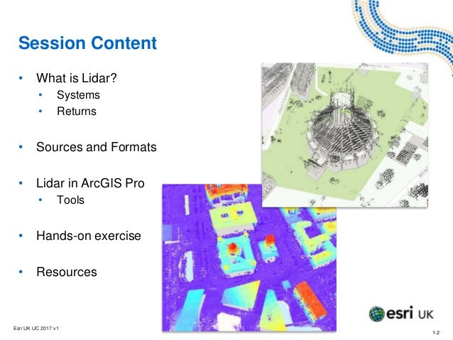 Visualising Lidar Data in ArcGIS Pro - Training - Esri UK