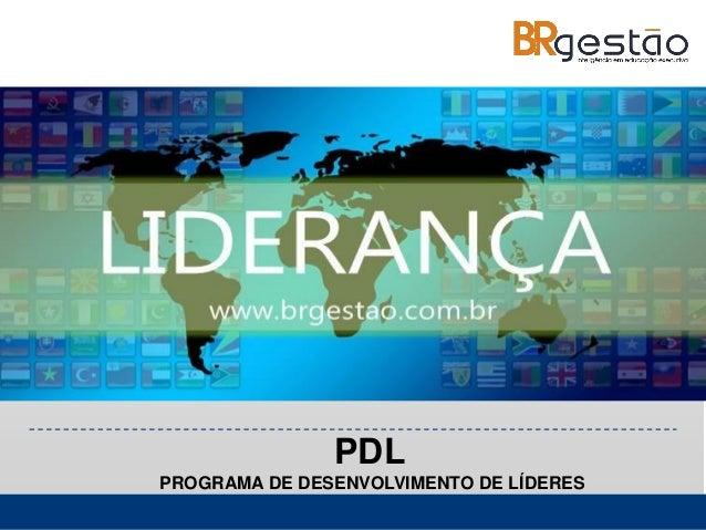 www.alessandrolunardon.com.br PDL PROGRAMA DE DESENVOLVIMENTO DE LÍDERES