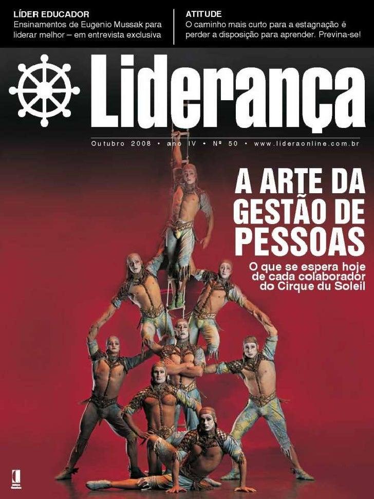 Liderança Nas Organizações Revista Liderança www.editoraquantum.com.br