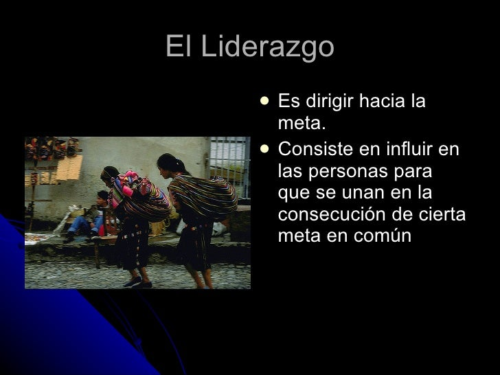 Liderazgo Slide 2
