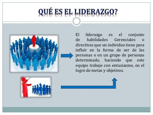 LIDERAZGO  Slide 3