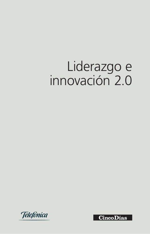 Liderazgo e  innovación 2.0