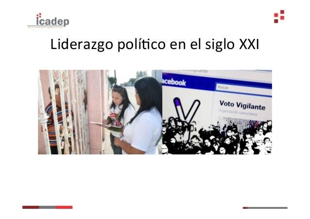 Liderazgo políGco:                      üCompromiso                     üConvocatoria                     üOfert...