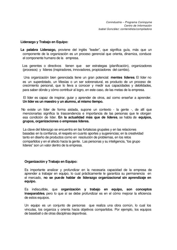 Conindustria – Programa Coninpyme                                                                           Centro de Info...