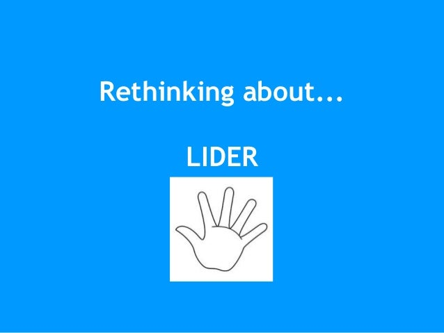 Rethinking about... LIDER
