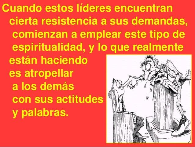 • Es necesario aclarar que no todos los desacuerdos entre el líder y la congregación constituye abuso espiritual. • Los de...
