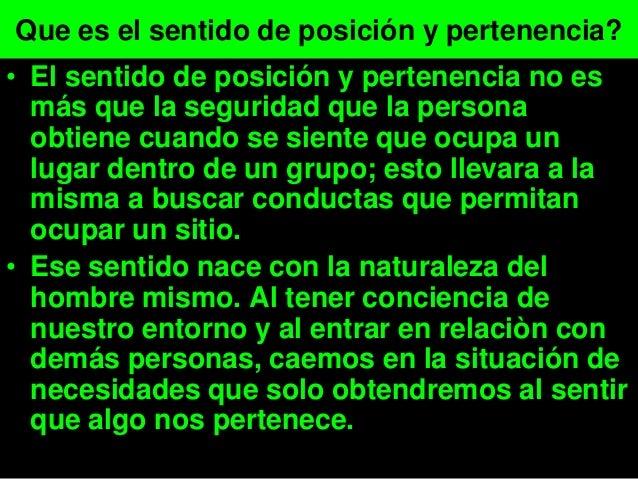 • Pero en sí que es está palabra? Es la natural percepción del ser humano de que algún objeto o persona es de nuestra prop...