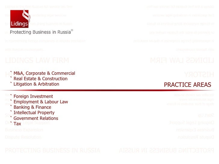 `   M&A,  Corporate & Commercial   `  Real Estate & Construction   `  Litigation & Arbitration `  Foreign Investment   `  ...