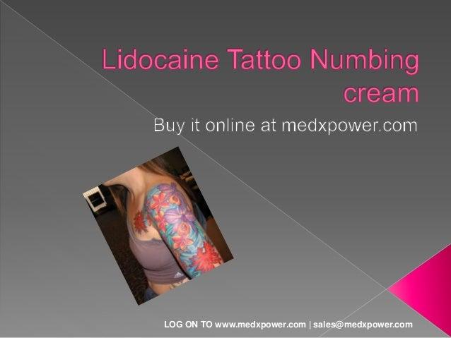 buy tattoo numbing cream