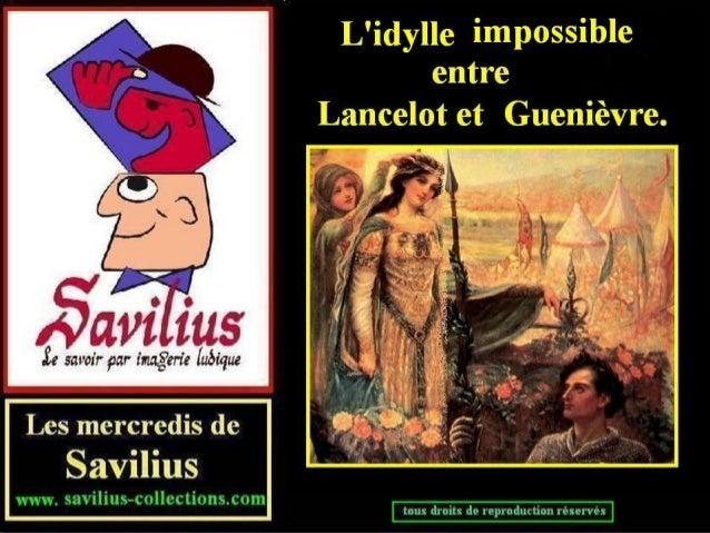 L'idylle impossible  entre Lancelot et Guenièvre