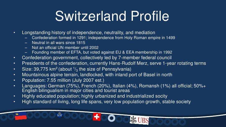 Countries Without Net Neutrality >> Changing Banking Regulations in Switzerland and Liechtenstein