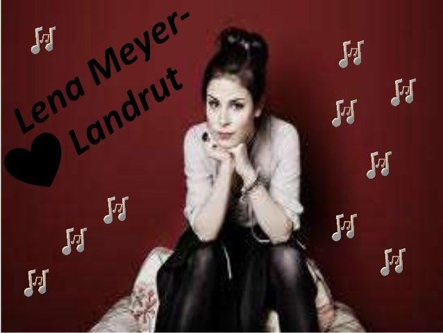 Lena Meyer-Lantrout • Lena Meyer- Lantrout ist am 23. Mai 1991 in Hannover, in Deutschland geboren. Sie ist Pop Sängerin u...