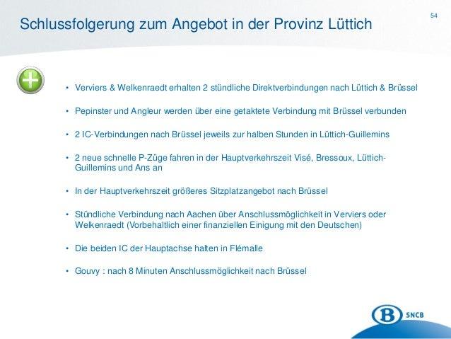 Plan de transport 2014: la province de Liège (en allemand)