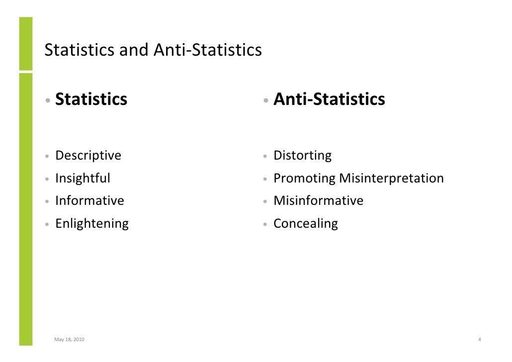lies damn lies and statistics pdf