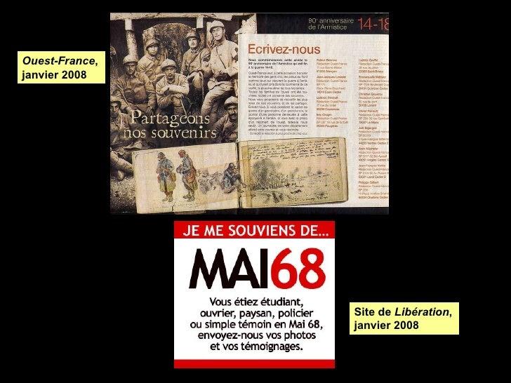 Site de  Libération , janvier 2008 Ouest-France , janvier 2008