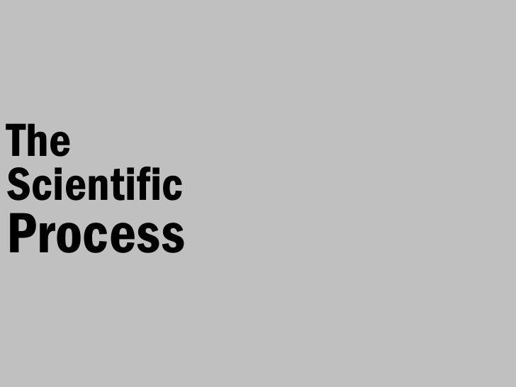 TheScientificProcess