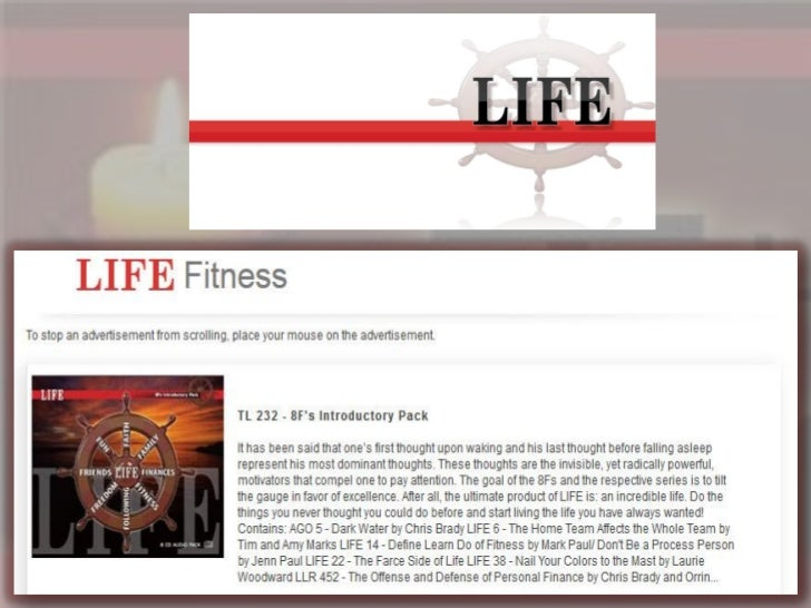 Read This For More Information On LIFE                Click here