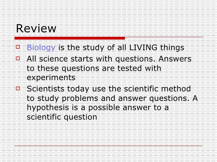 Life Science Chapt1 2
