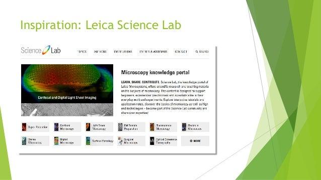 Inspiration: Leica Science Lab