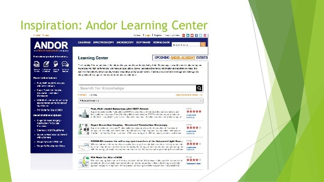 Inspiration: Andor Learning Center