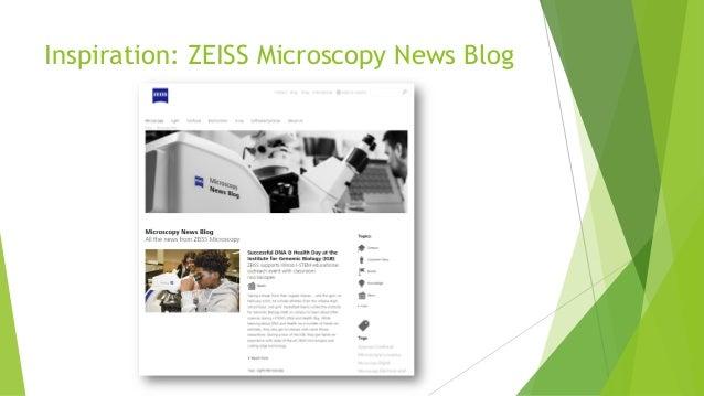 Inspiration: ZEISS Microscopy News Blog