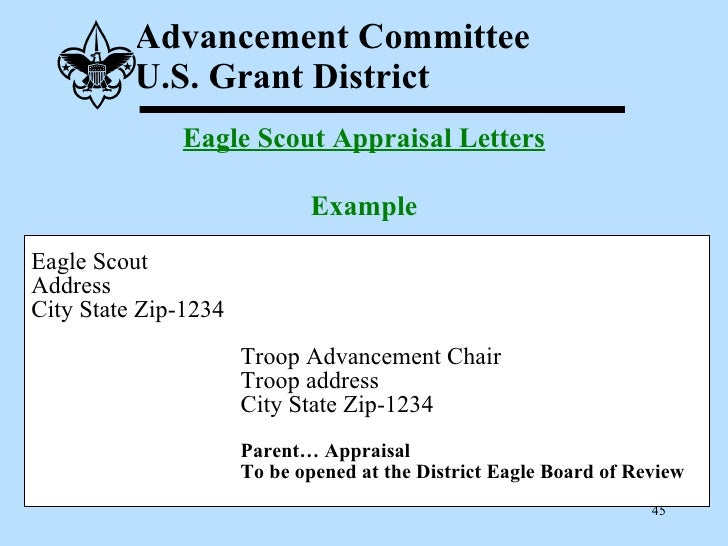 Eagle Scout Recommendation Letter Sample from image.slidesharecdn.com