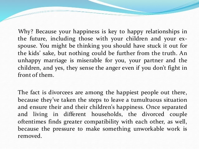 do life get better after separation 9 reasons women are happier after divorce divorce has a more positive impact on women  what it is about women that help them move on to a more fulfilling life after divorce why do women.